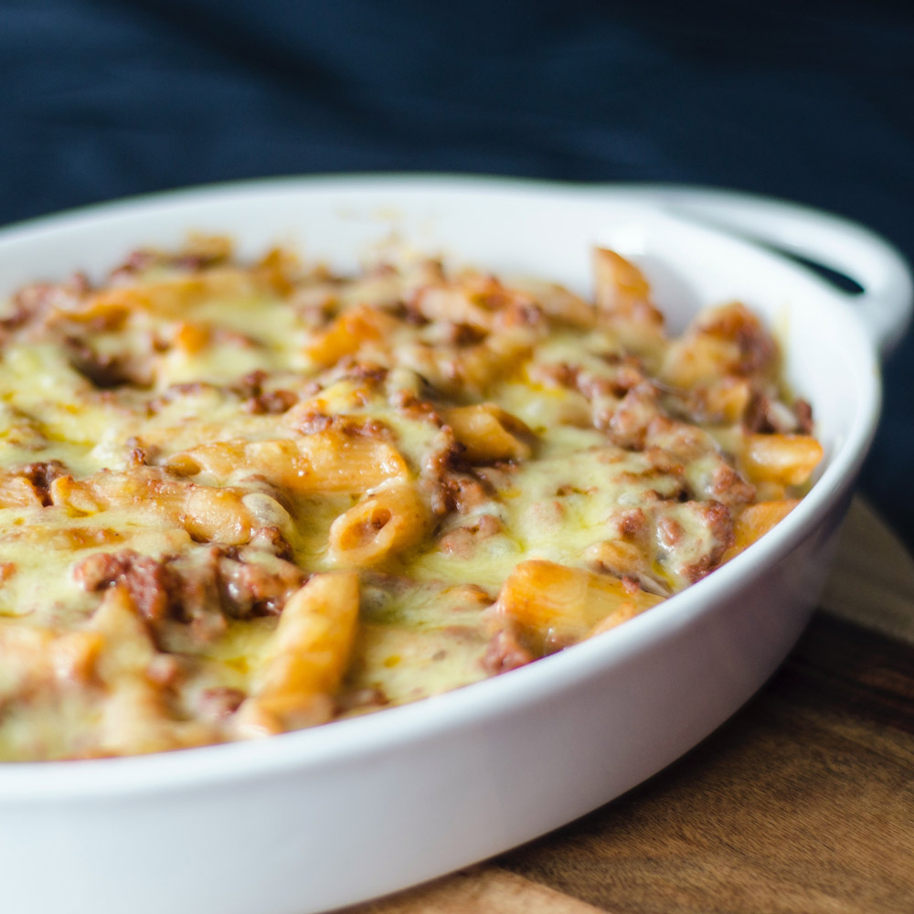 Edwards of conwy Sausage Meat Mac n Cheese
