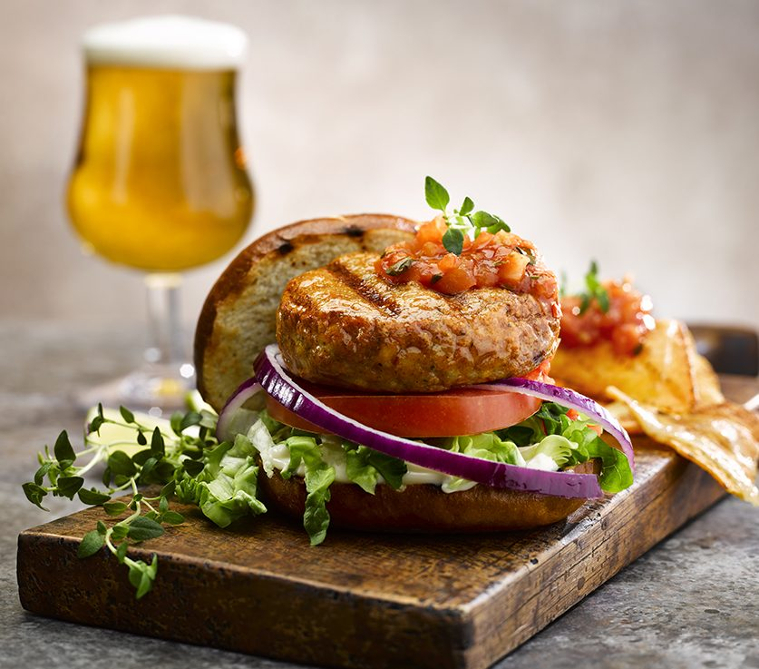 Peri Peri Chicken Burger from Edwards of Conwy